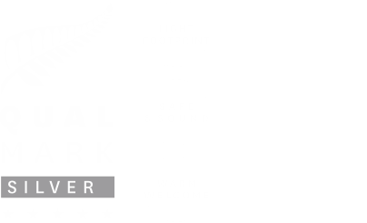 Qualmark Silver 5 Star Rated Logo and Tiaki Logo